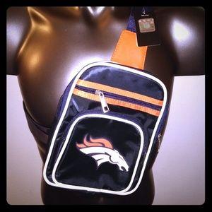 Denver Broncos Mini Sling Backpack Bag